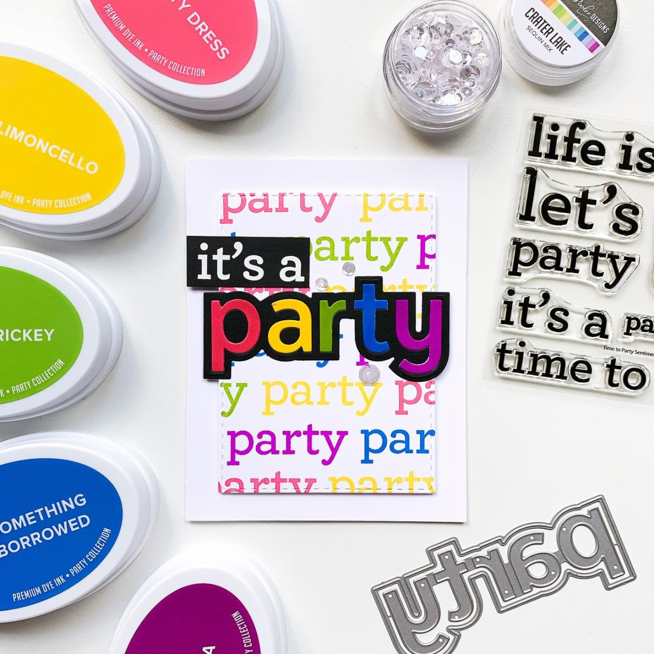 Time to Party, Catherine Pooler Clear Stamps -