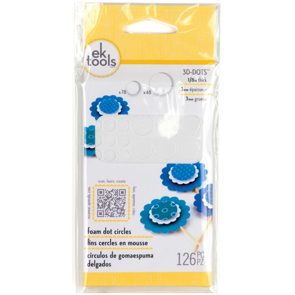 3D Dots Foam Adhesive Circles, EK Success -