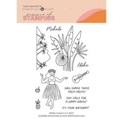 Aloha by Julie Ebersole, Summer of Stamping Clear Stamps -