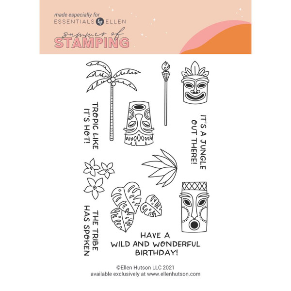 It's a Jungle by Julie Ebersole, Summer of Stamping Clear Stamps -