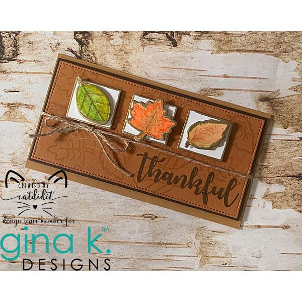 Absolutely Autumn, Gina K Designs Clear Stamps -