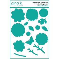 Fresh Flowers, Gina K Designs Dies -