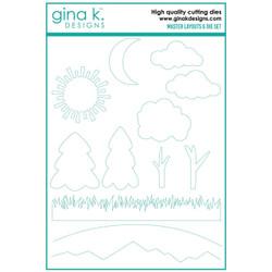 Master Layouts 6, Gina K Designs Dies -