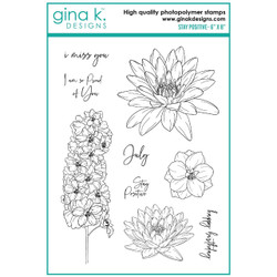 Stay Positive, Gina K Designs Clear Stamps -