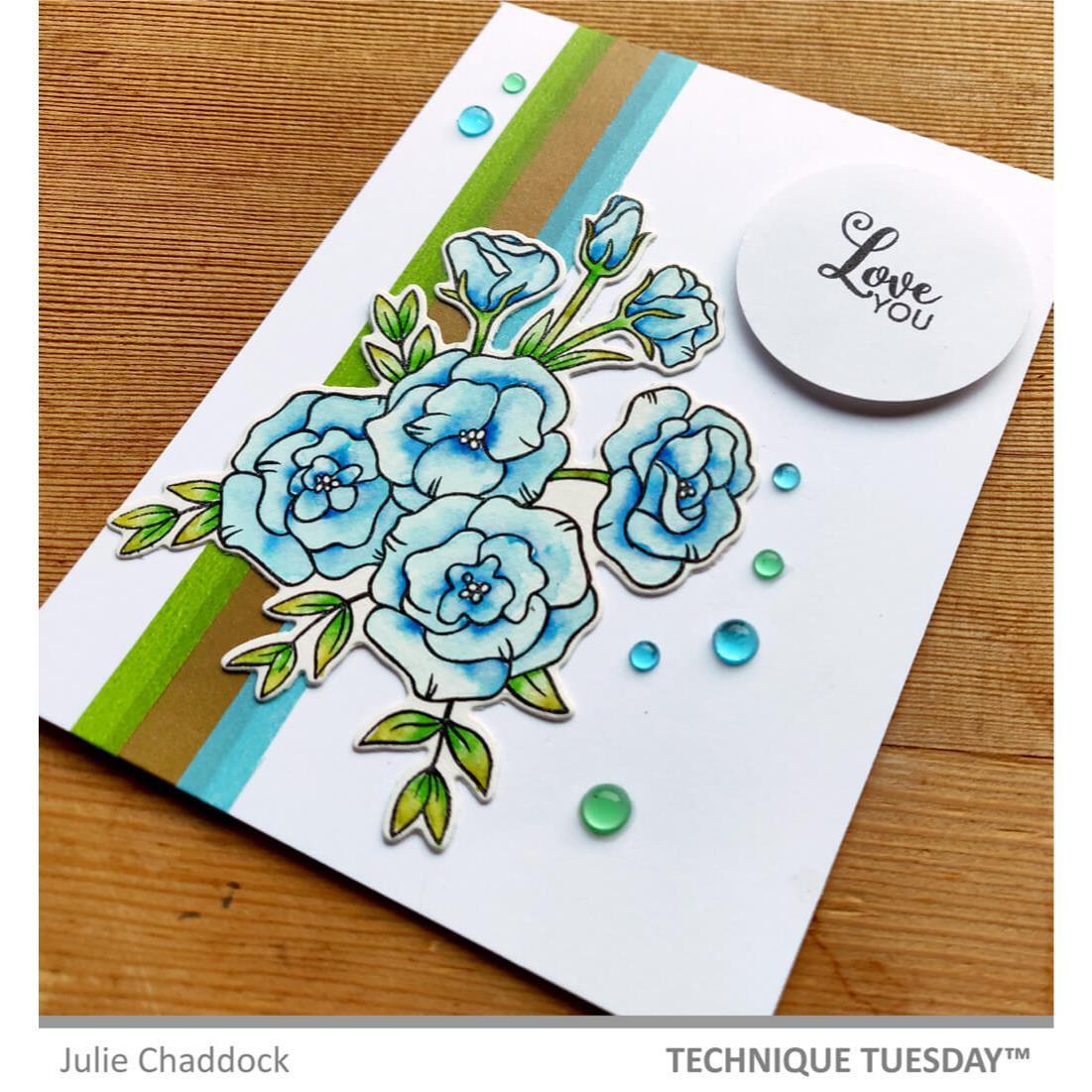 Lisianthus Flower, Technique Tuesday Dies -