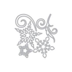 Large Snowflakes and Swirls, Hero Arts Dies -