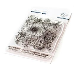 Best of Everything Floral, Pinkfresh Studio Clear Stamps -