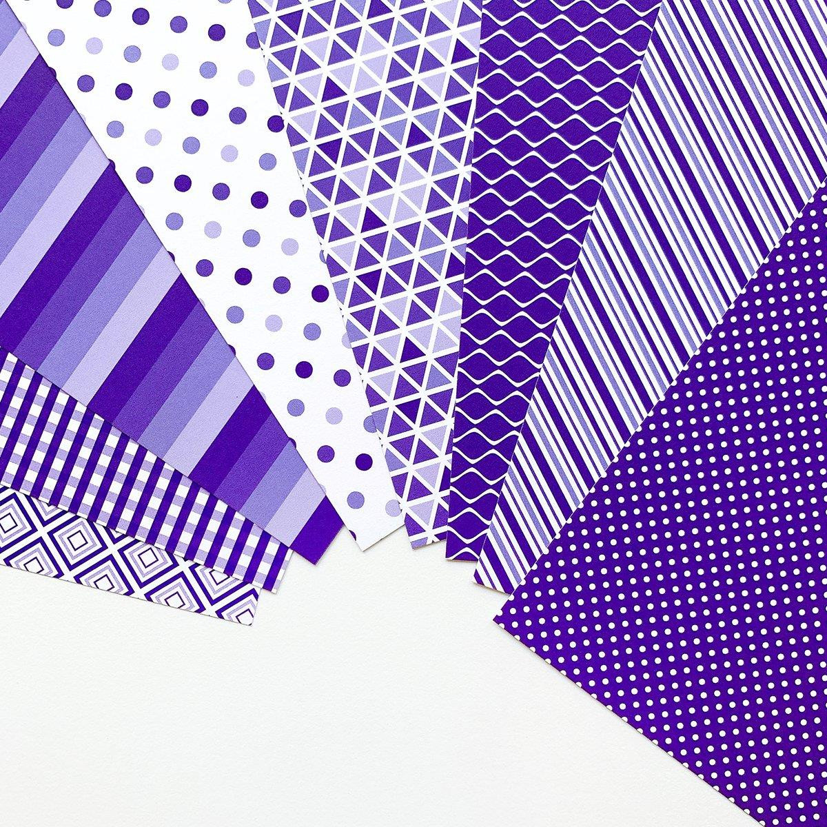 Grape Crush Prints, Catherine Pooler Patterned Paper -