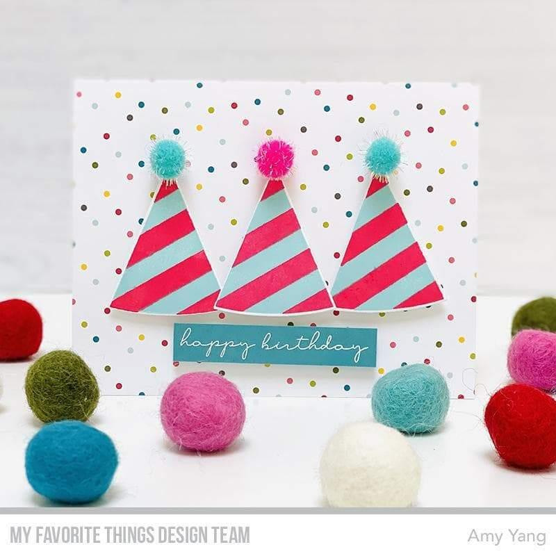 It's Your Day, My Favorite Things Clear Stamps -