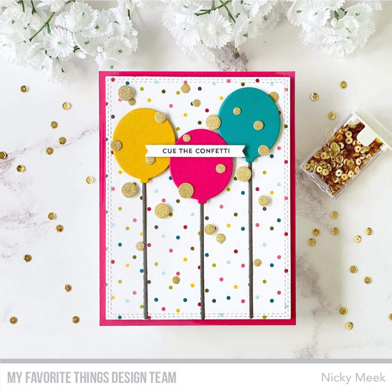 Itty Bitty Birthday, My Favorite Things Clear Stamps -