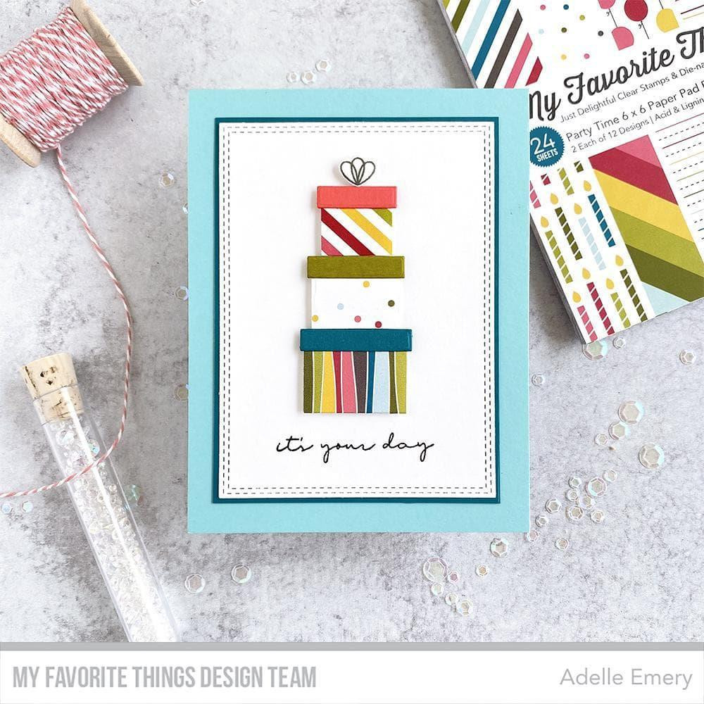Party Time, My Favorite Things Paper Pack -