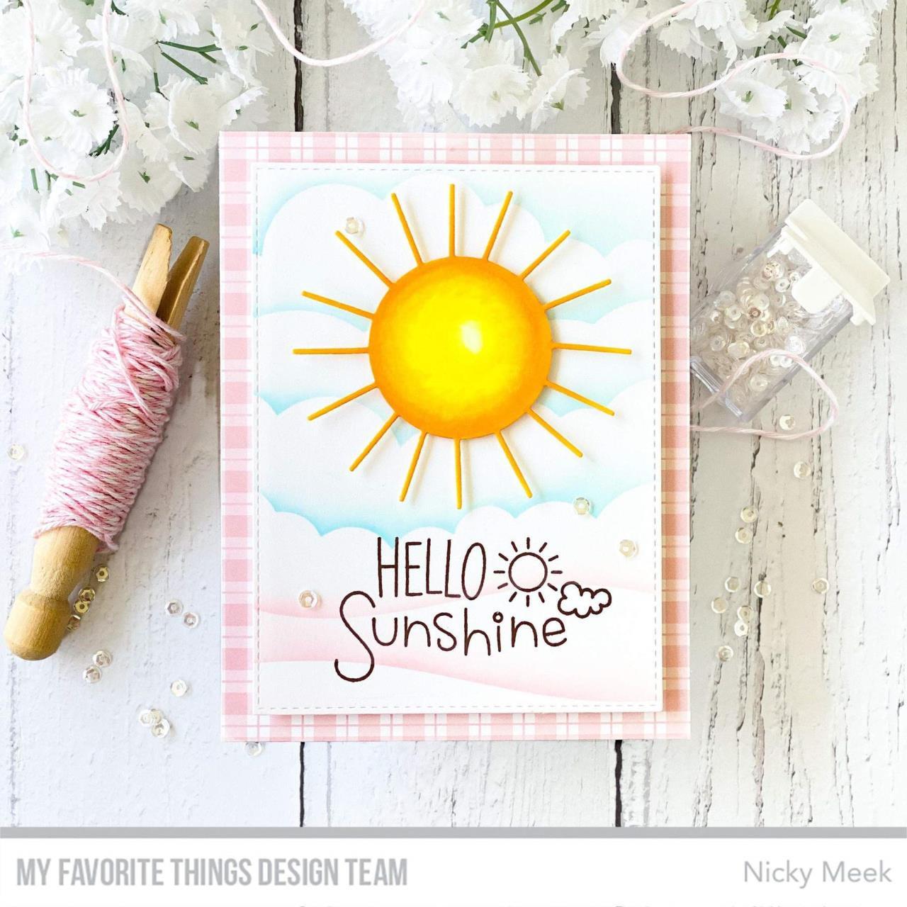 Full Sun by Miss Tiina, My Favorite Things Die-Namics -