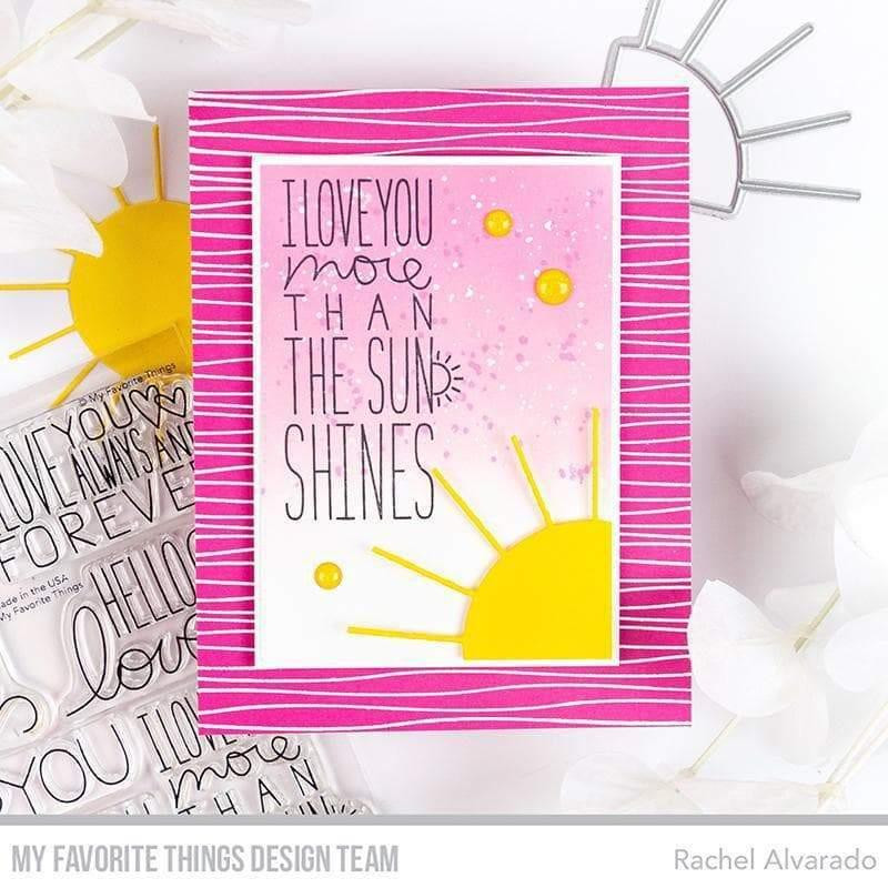 Hello Sunshine by Miss Tiina, My Favorite Things Die-Namics -
