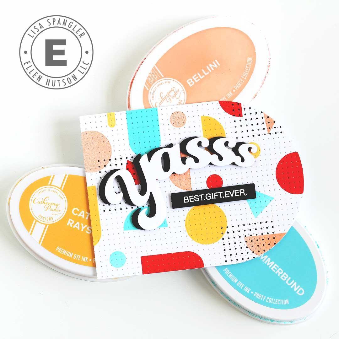 Stay Cool by Julie Ebersole, Summer of Stamping Designer Dies -