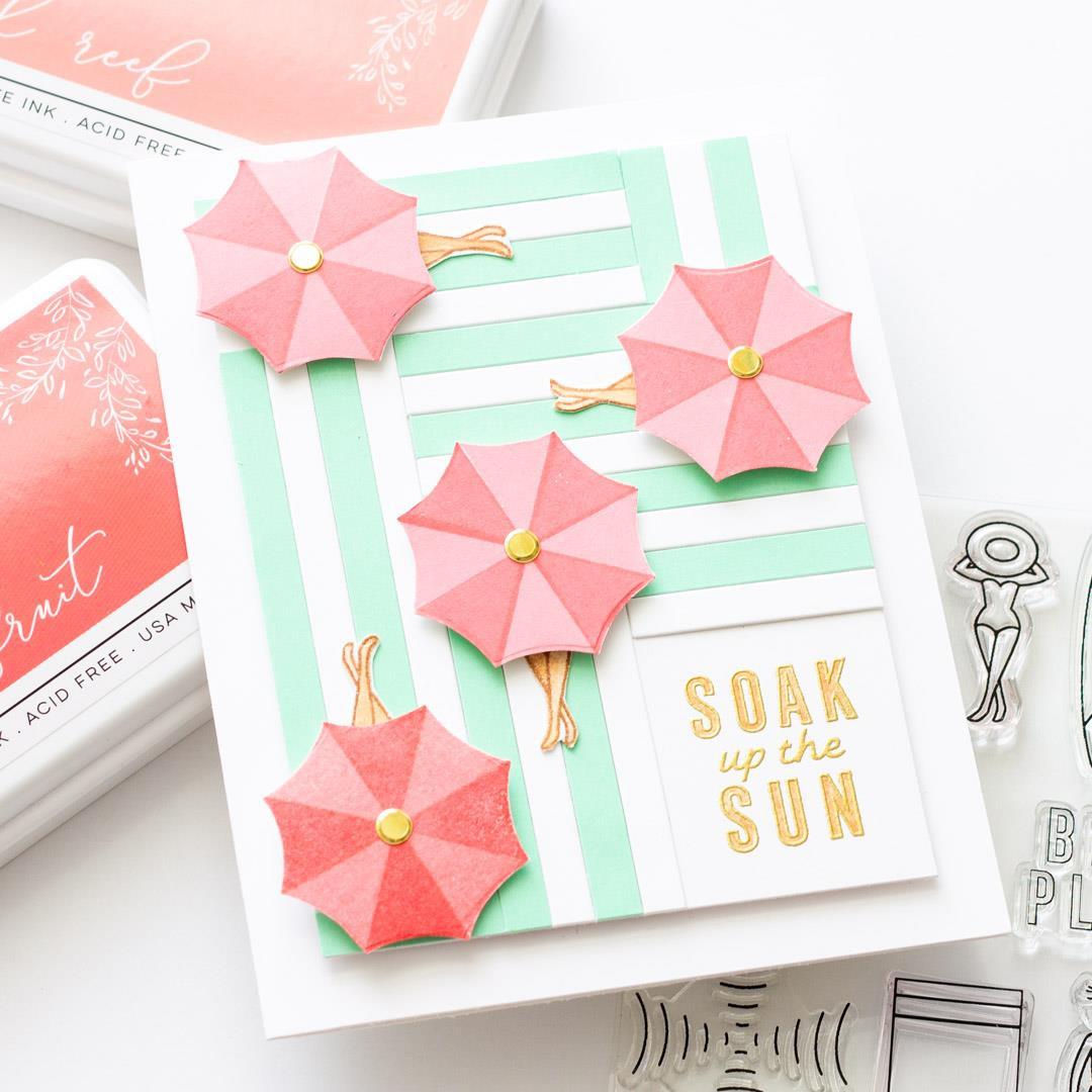 Everything's Beachy by Julie Ebersole, Summer of Stamping Clear Stamps -