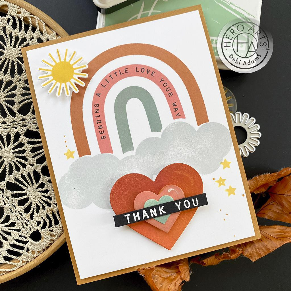 Rainbow HeroScape, Hero Arts Clear Stamps -