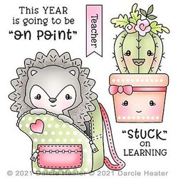 On Point, Darcie's Clear Stamps -