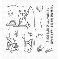 Outdoor Adventures, My Favorite Things Clear Stamps -