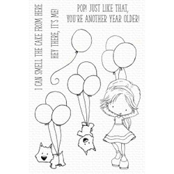 Smell the Cake by Tiddly Inks, My Favorite Things Clear Stamps -