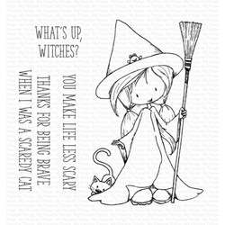 Sweet Little Spell by Tiddly Inks, My Favorite Things Clear Stamps -