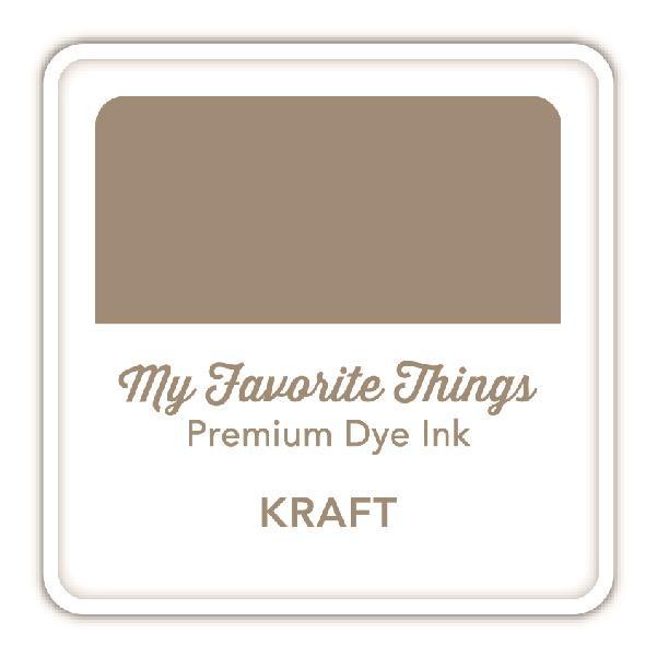 Kraft, My Favorite Things Premium Dye Ink Cube -