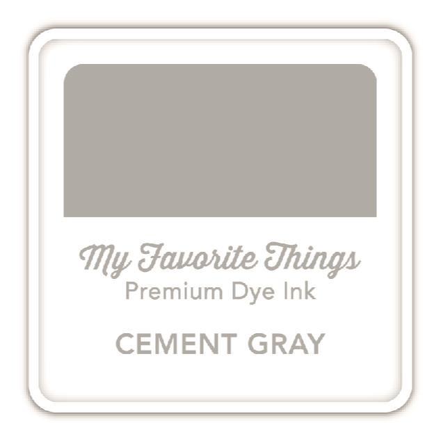Cement Gray, My Favorite Things Premium Dye Ink Cube -