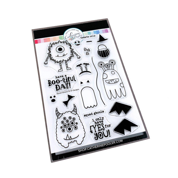 Squad Ghouls, Catherine Pooler Clear Stamps -