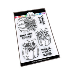 Front Porch Pumpkins, Catherine Pooler Clear Stamps -