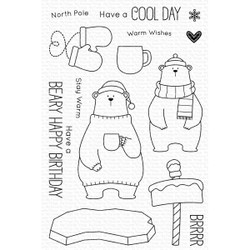 Cool Day by Birdie Brown, My Favorite Things Clear Stamps -