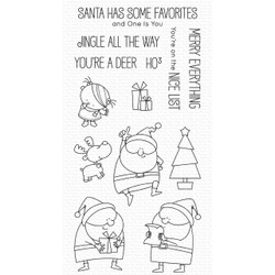 Jingle All the Way by Birdie Brown, My Favorite Things Clear Stamps -