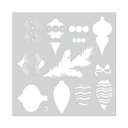 Layering Ornaments and Trimmings, Hero Arts Stencils -
