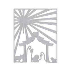 Nativity Cover Plate, Hero Arts Dies -