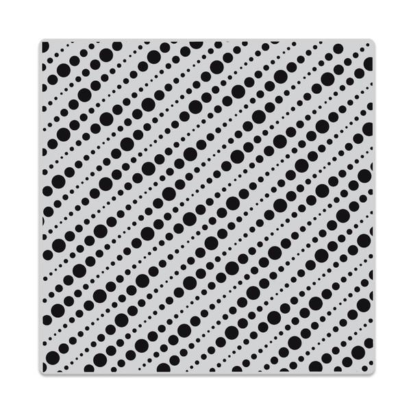 String Dots Bold Prints, Hero Arts Cling Stamps -