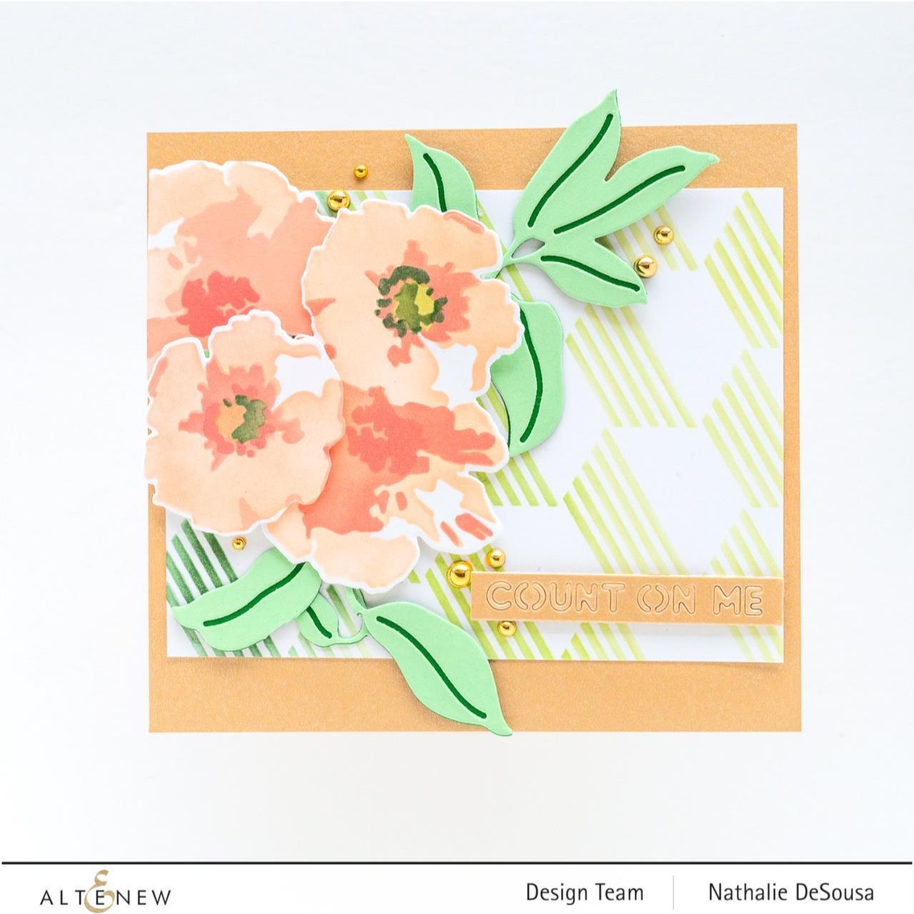Impressionist Bouquet, Altenew Dies -