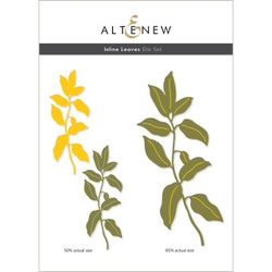 Inline Leaves, Altenew Dies -