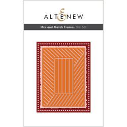 Mix and Match Frames, Altenew Dies -