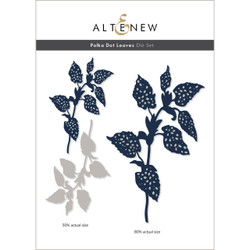 Polka Dot Leaves, Altenew Dies -