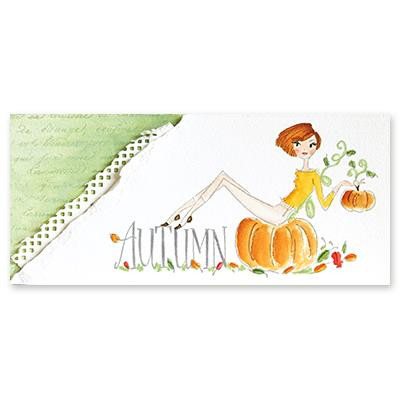 Autumn Vibes, Penny Black Cling Stamps -