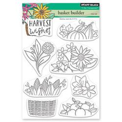 Basket Builder, Penny Black Clear Stamps -