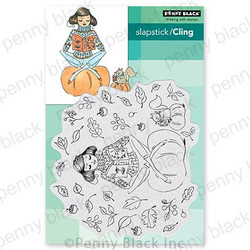 Chapters, Penny Black Cling Stamps -