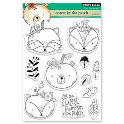 Cutest in the Patch, Penny Black Clear Stamps -
