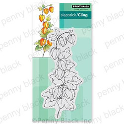 Fall Flourish, Penny Black Cling Stamps -