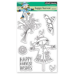 Happy Harvest, Penny Black Clear Stamps -