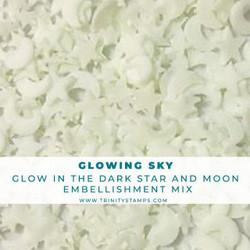 Glowing Sky, Trinity Stamps Embellishments -