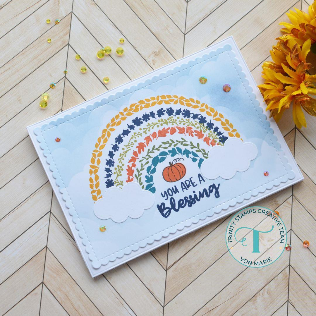 Harvest Rainbow, Trinity Stamps Clear Stamps -