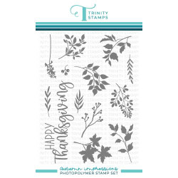 Autumn Impressions, Trinity Stamps Clear Stamps -