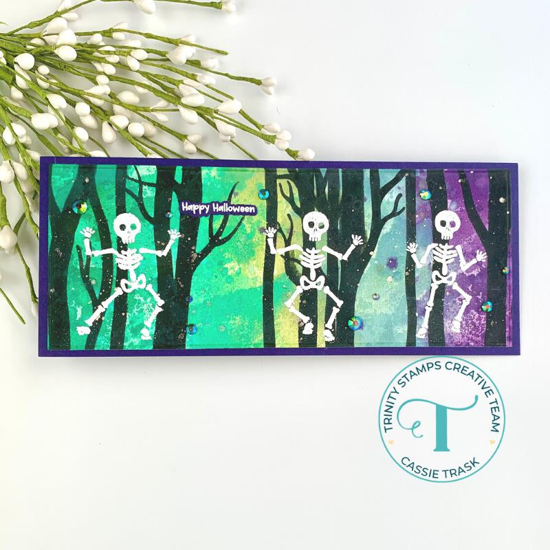 Shake Your Bones, Trinity Stamps Clear Stamps -