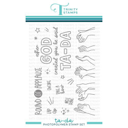 TA-DA, Trinity Stamps Clear Stamps -