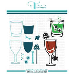 Creepy Cocktails, Trinity Stamps Dies -