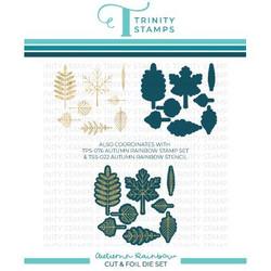 Autumn Rainbow, Trinity Stamps Cut & Foil Dies -